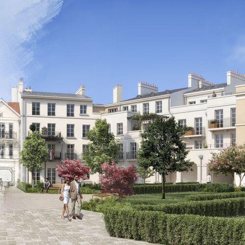 logement neuf extérieur Au temps du Faubourg - SERRIS