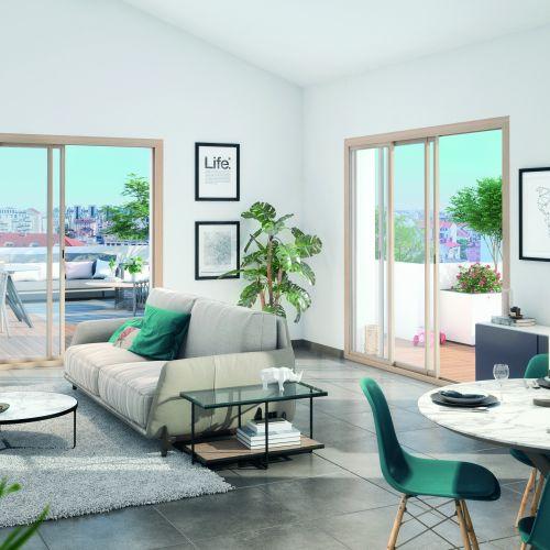 logement neuf intérieur Génération Gratte Ciel - VILLEURBANNE