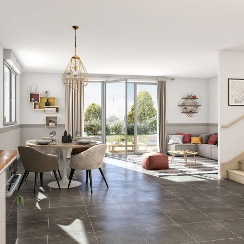 logement neuf intérieur Le Domaine de Candice - MONDONVILLE