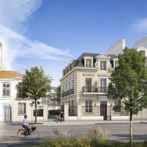 logement neuf extérieur 1 Au temps du Faubourg - SERRIS