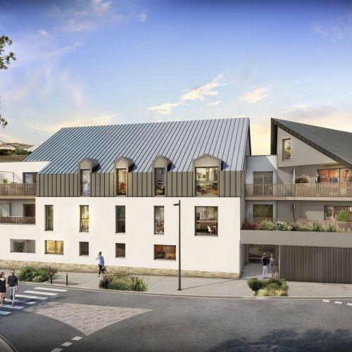 logement neuf extérieur Eloge - SAUTRON