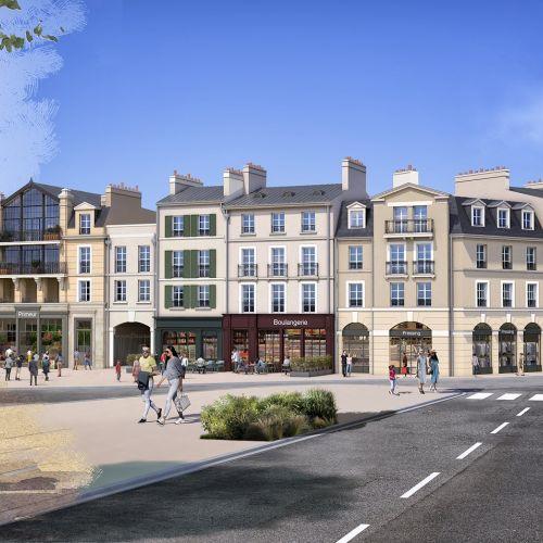logement neuf extérieur 2 Au temps du Faubourg - SERRIS